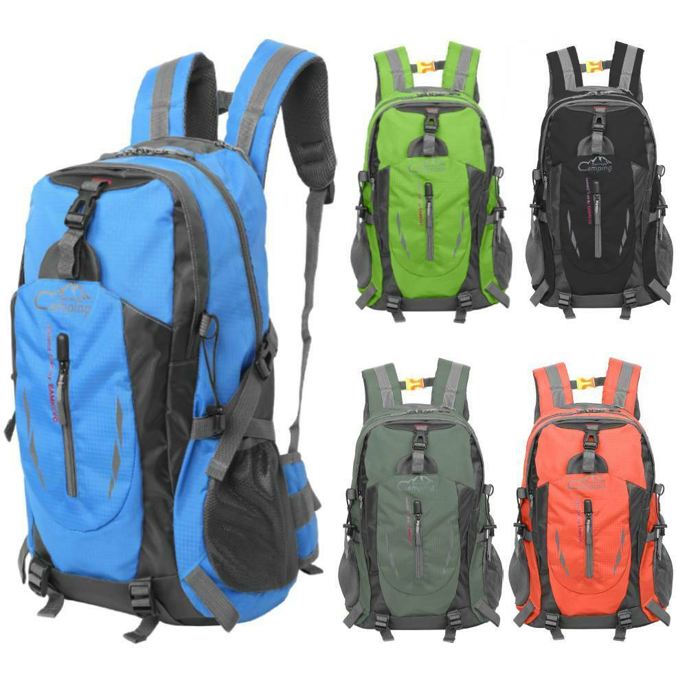 Outdoor Camping Travel Luggage Running Cycling Rucksack Backpack Bag 3...