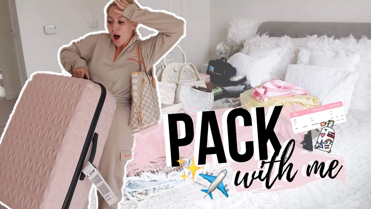 PACK WITH ME FOR MY SUMMER HOLIDAY! | TIPS FOR PACKING