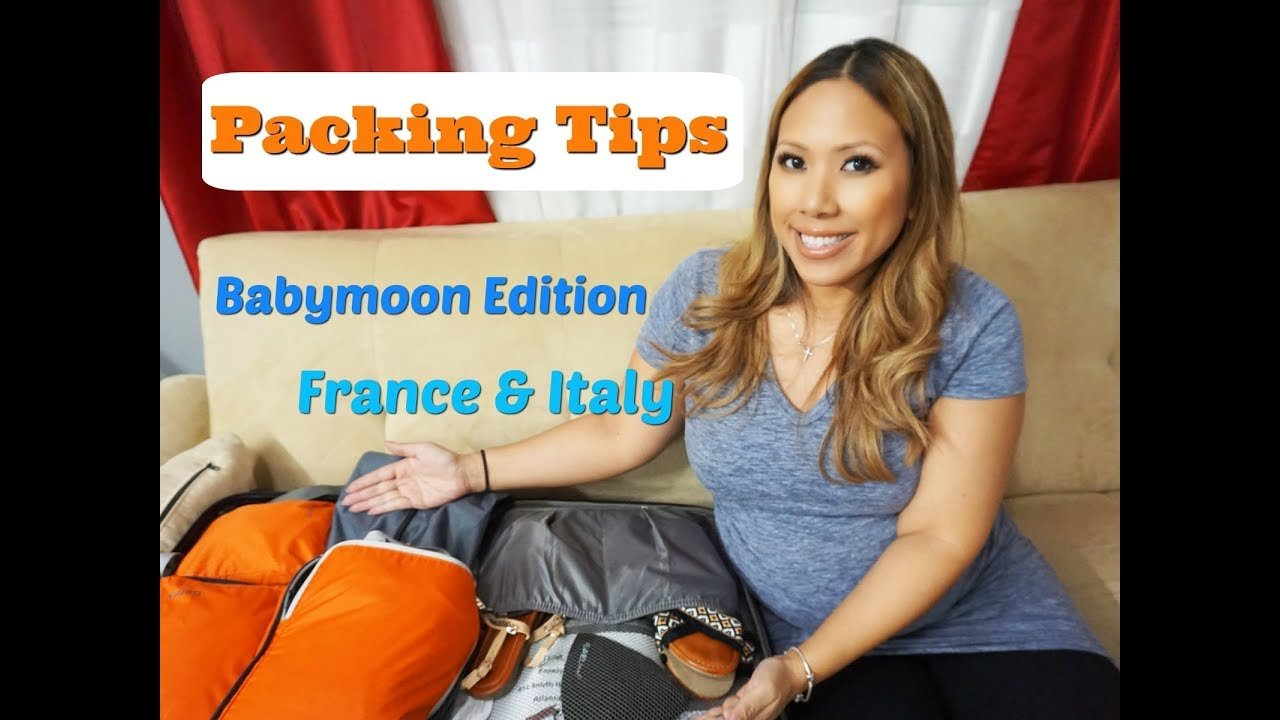 Pack with Me for my Babymoon - Pregnancy Travel Packing Tips