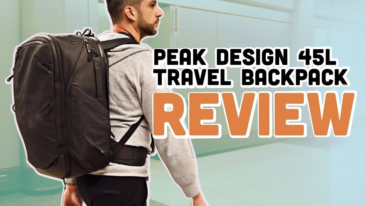 Peak Design 45L Travel Backpack and Accessories Review: Two Weeks in E...