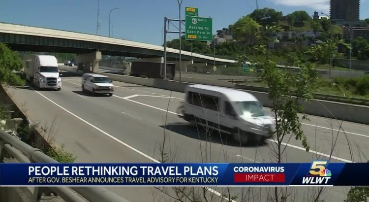 People rethinking travel plans after Beshear announces travel advisory
