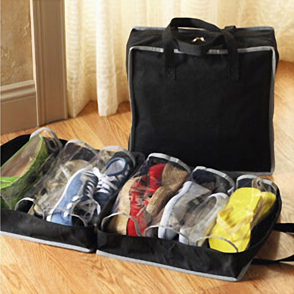Portable Shoes Travel Storage Bag Organizer Tote Luggage Carry Pouch H...
