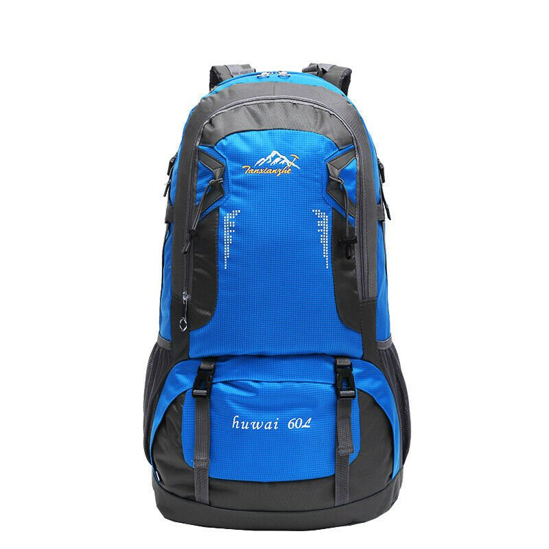 Portable Travel Backpack Hiking Outdoor Sports Daypack Storage Bag+Cam...