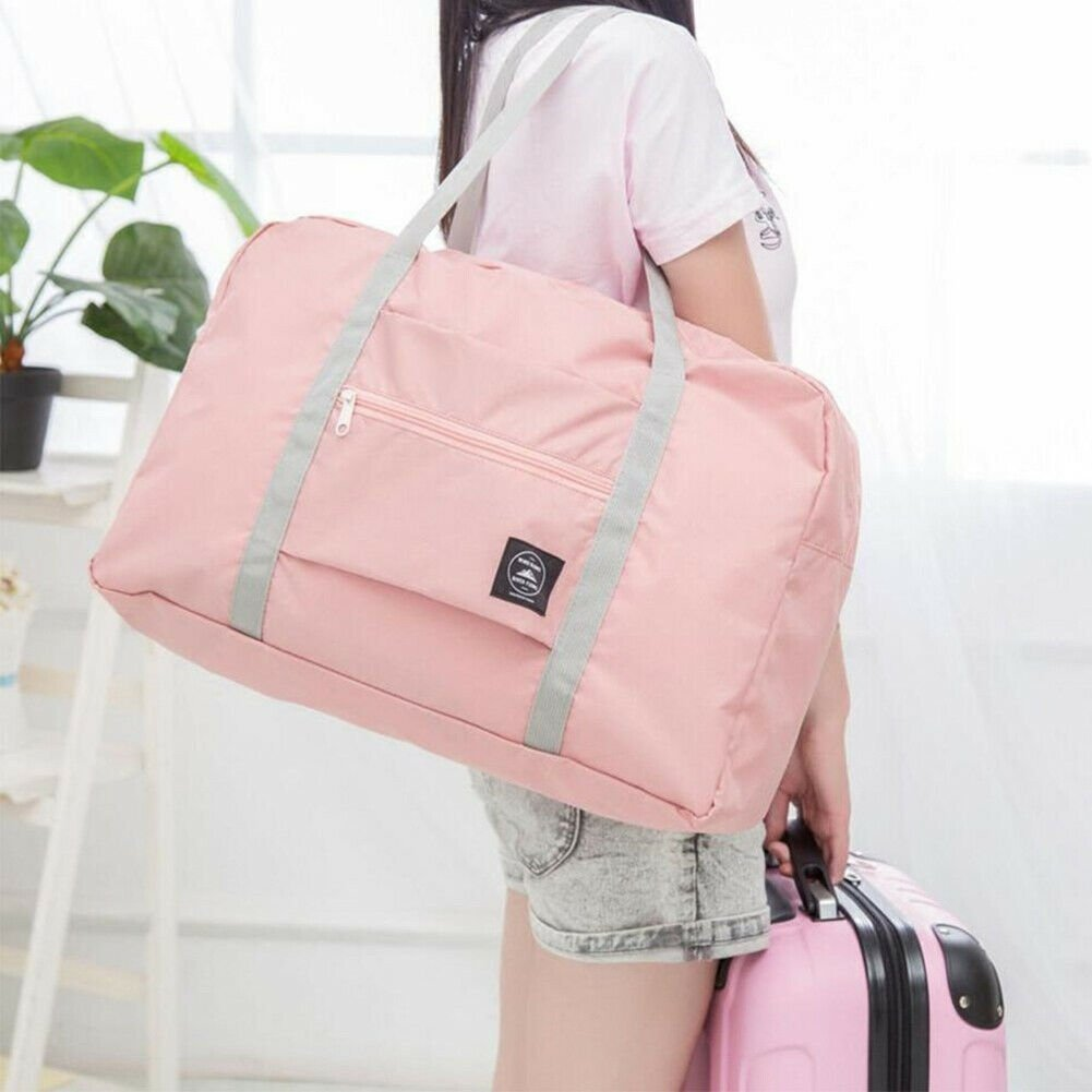 Portable Waterpoof Foldable Travel Luggage Storage Carry-On Duffle Bag...