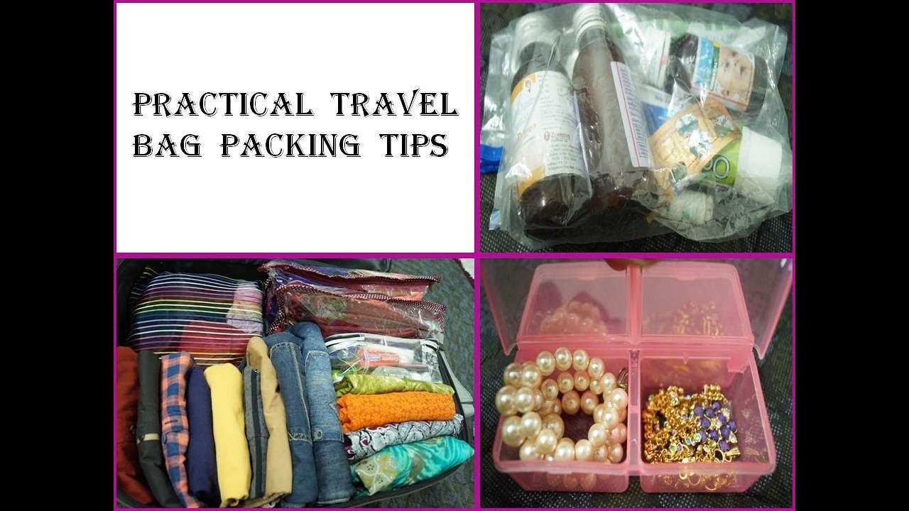 Practical Travel Bag Packing Tips - How To Pack A Suitcase