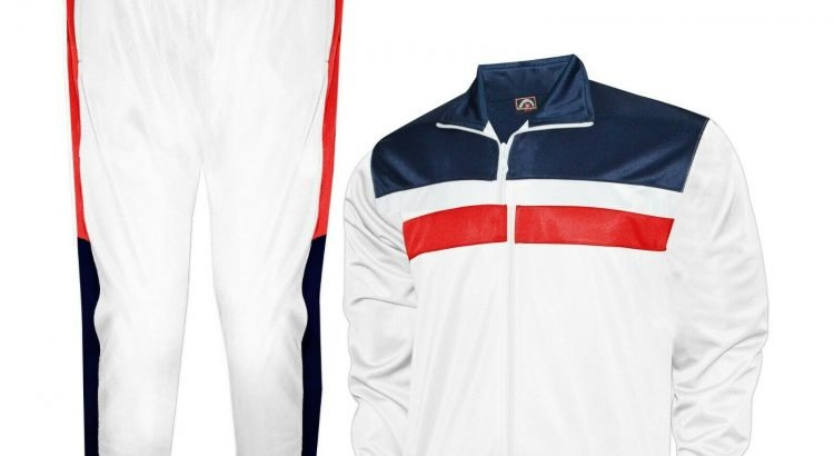 Prime Sport Mens Tracksuit Athletic Full Zip Casual Sports Jogging Gym...