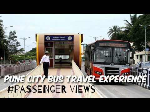 Pune city bus travel experience ! Passenger views on Condition of buse...