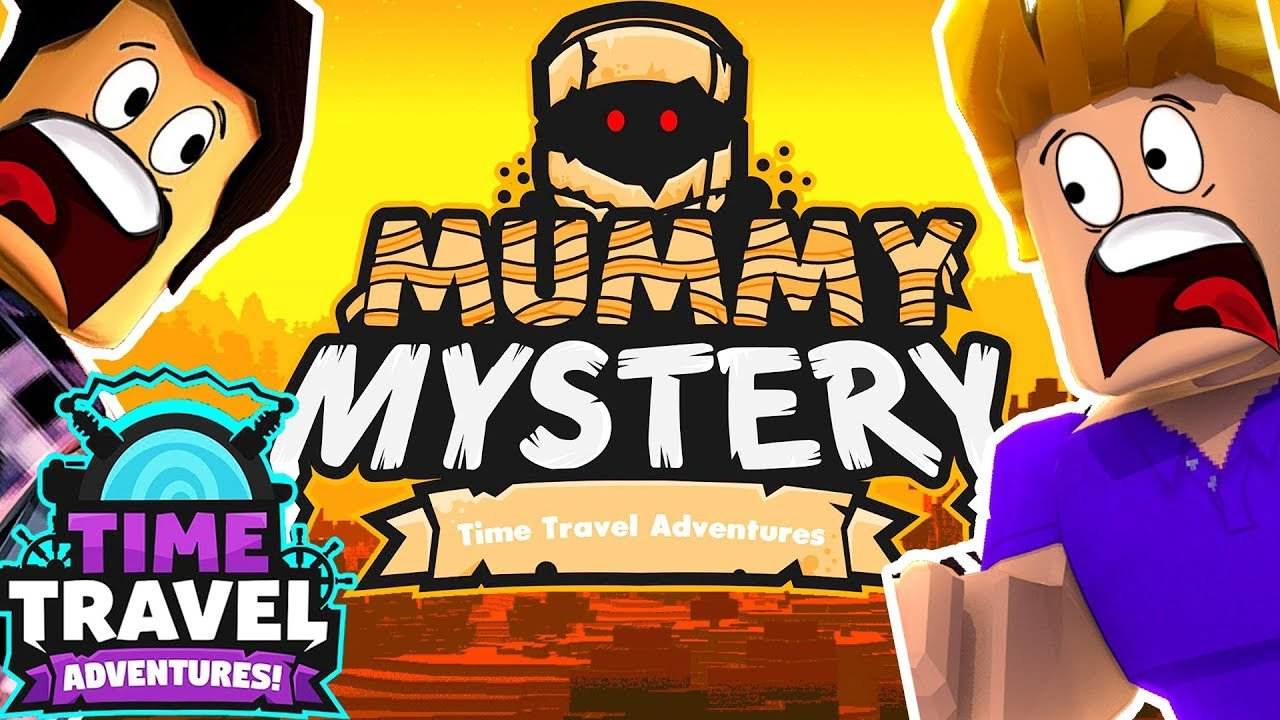 ROBLOX TIME TRAVEL ADVENTURES ! MUMMY MYSTERY AVEC FURIOUS JUMPER