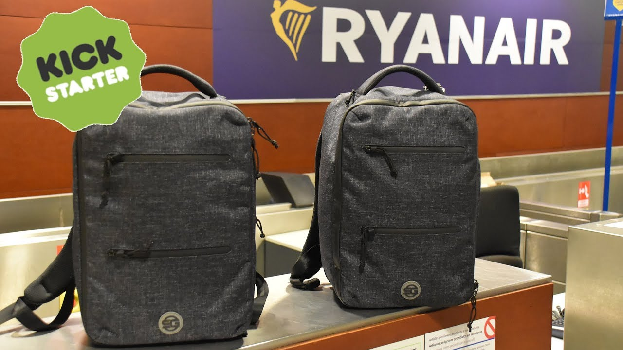 Ryanmax Travel Backpack Kickstarter Promo Video