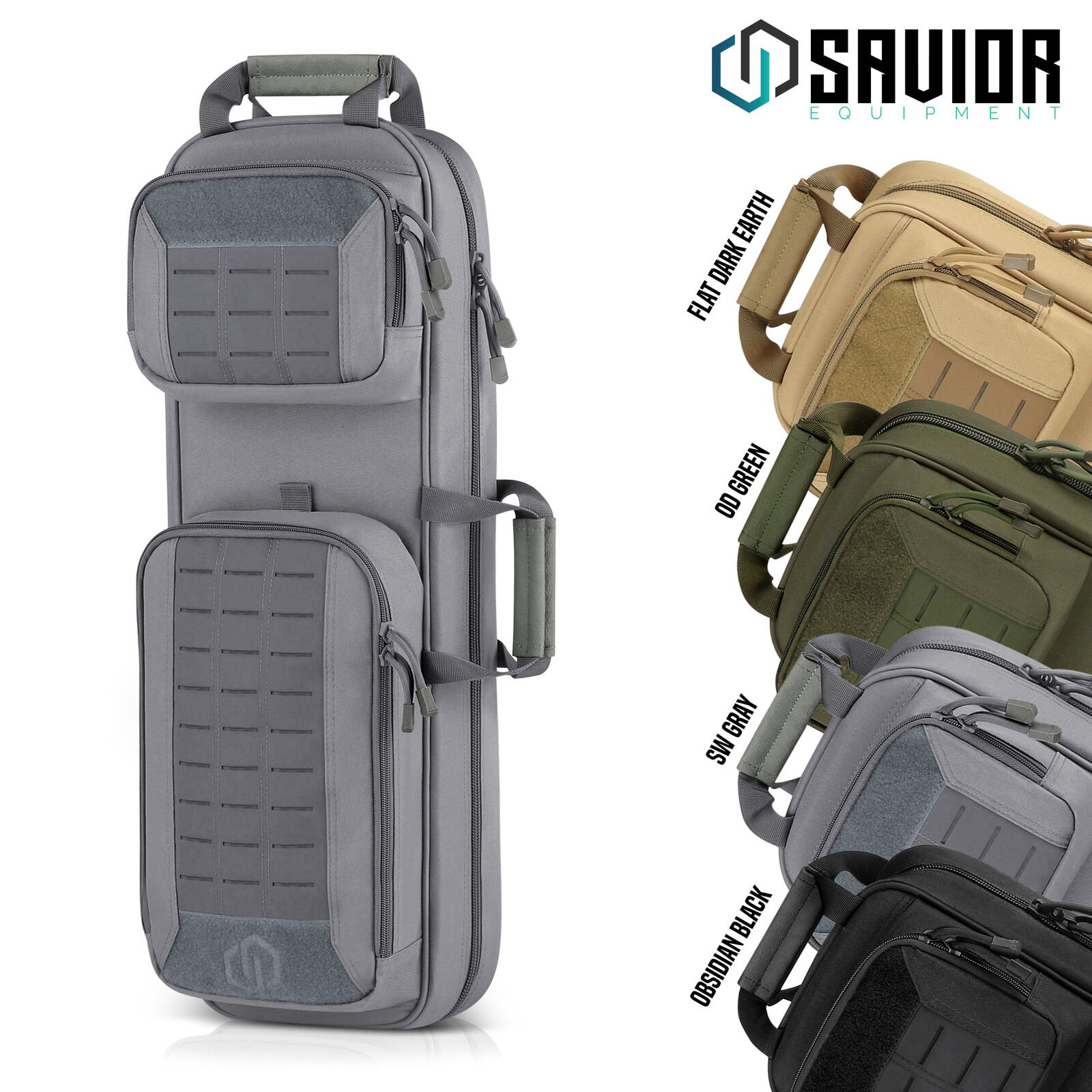Savior Tactical Urban Takedown Bag Carbine Rifle Padded Shotgun Firear...