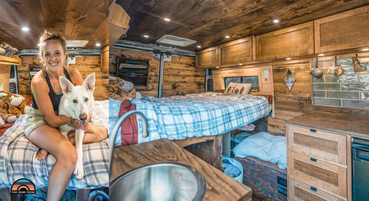 Solo Female Van Life - DIY Promaster - Building Sustainable Income Whi...