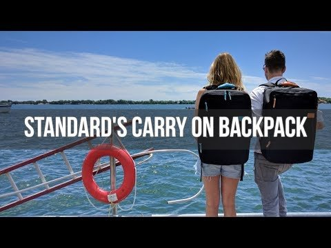 Standard's Carry-on Backpack | Flight Travel Backpack - How it Wor...