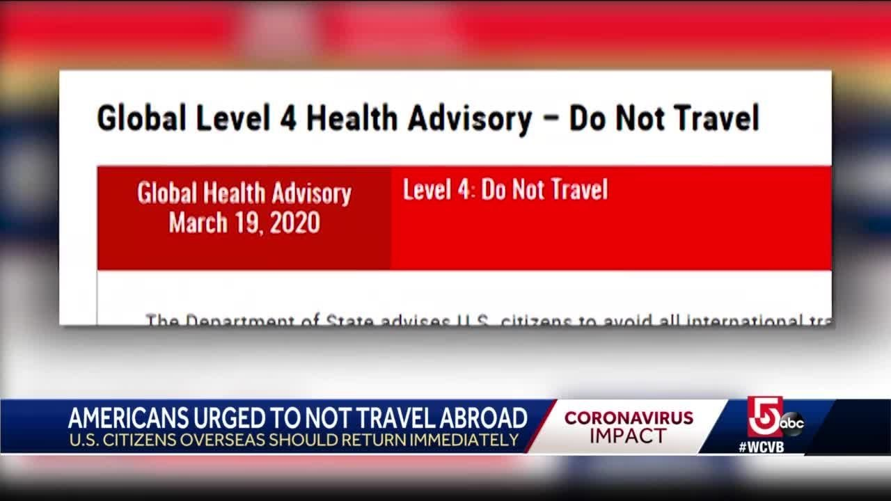 State Department issues urgent warning about overseas travel