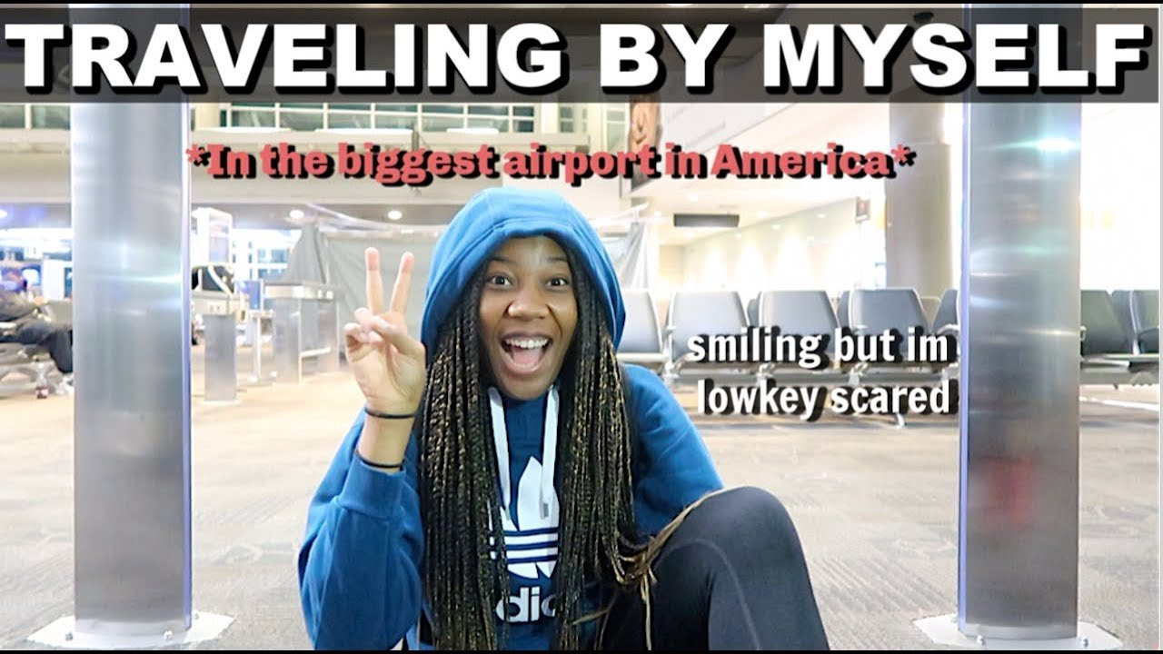 TRAVELING ALONE FOR THE FIRST TIME EVER (got lost) | Travel Vlog!
