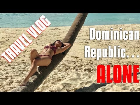 TRAVELING ALONE TO DOMINICAN REPUBLIC | Travel Vlog | Sindy with an S'...