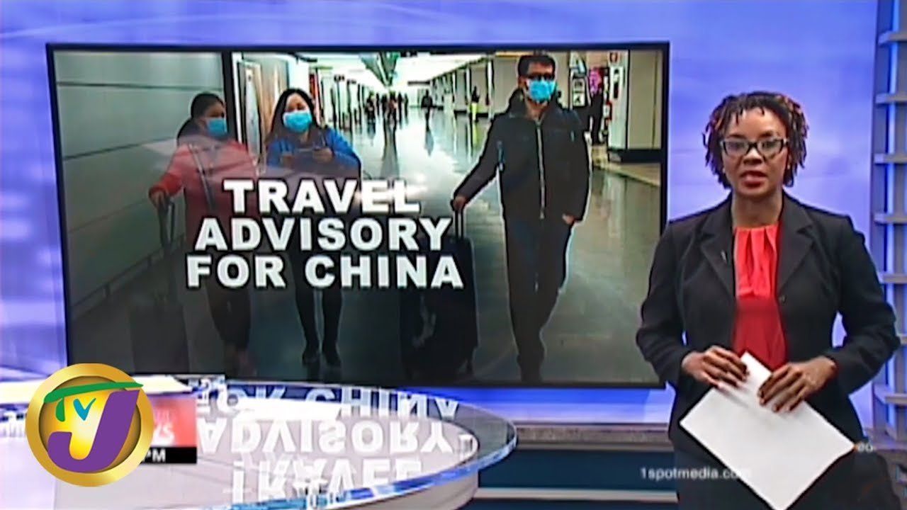 TVJ News: Gov't Issues Travel Advisory for China - January 28 2020