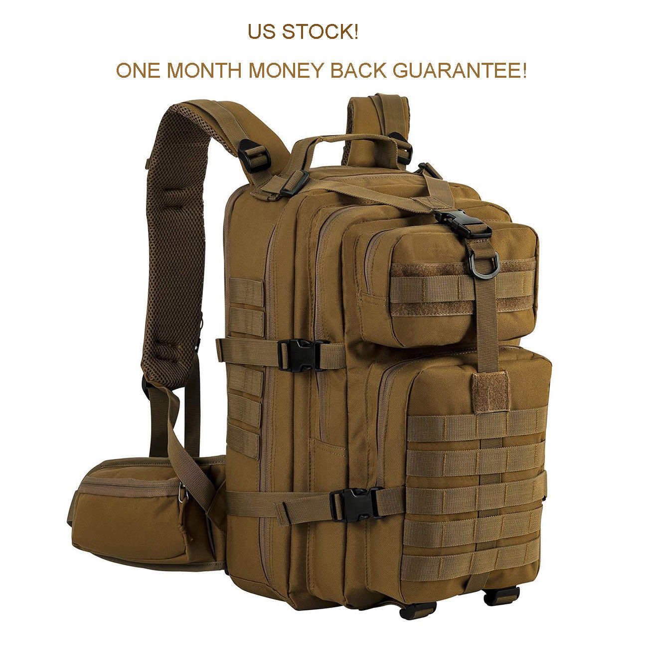 Tactical Backpack Assault Hunting Survival Military Army Hiking Bug Ou...