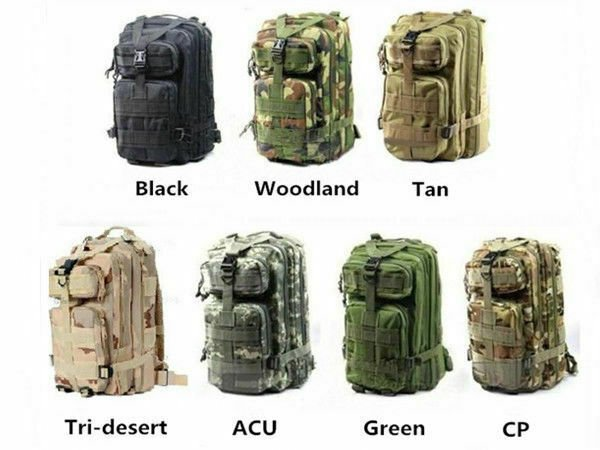 Tactical Scorpion Gear Military Style Mod Assault MOLLE Backpack Mulip...