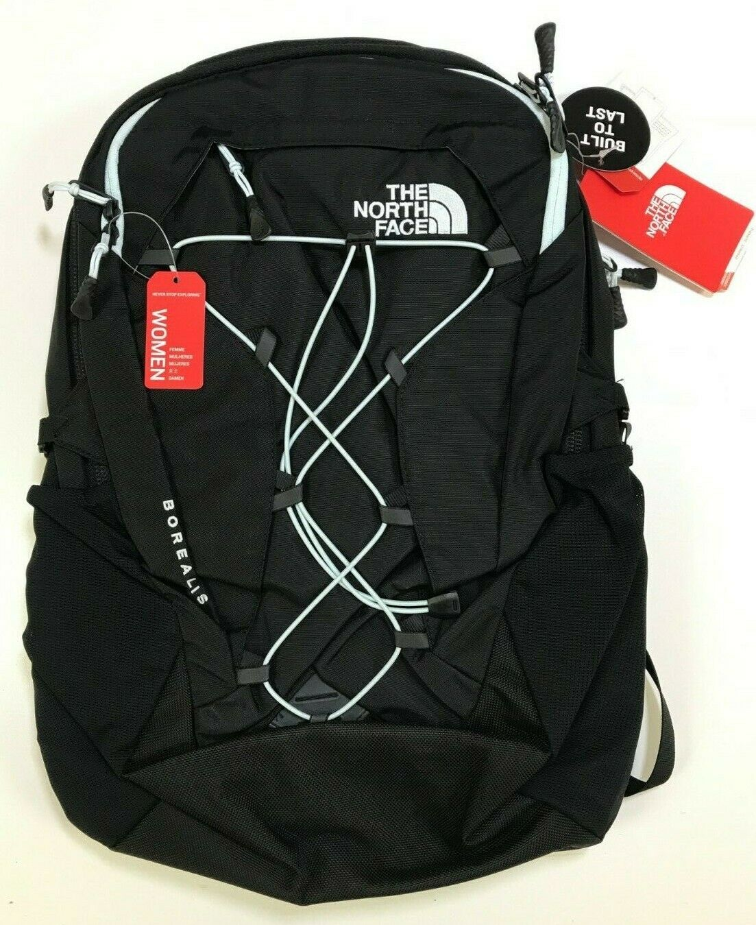 The North Face Women's Borealis Backpack TNF Black NEW