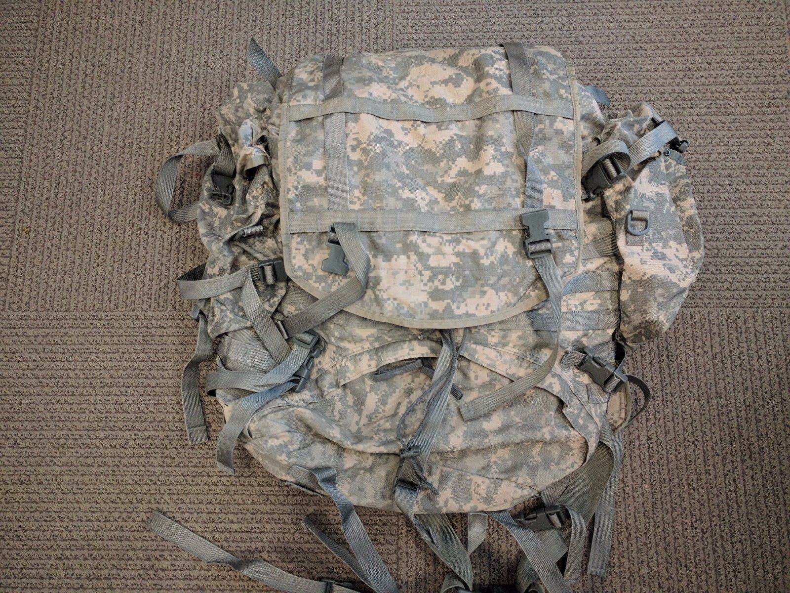 !! The One You Want !! Digital Camo Molle II Large Backpack COMPLETE!