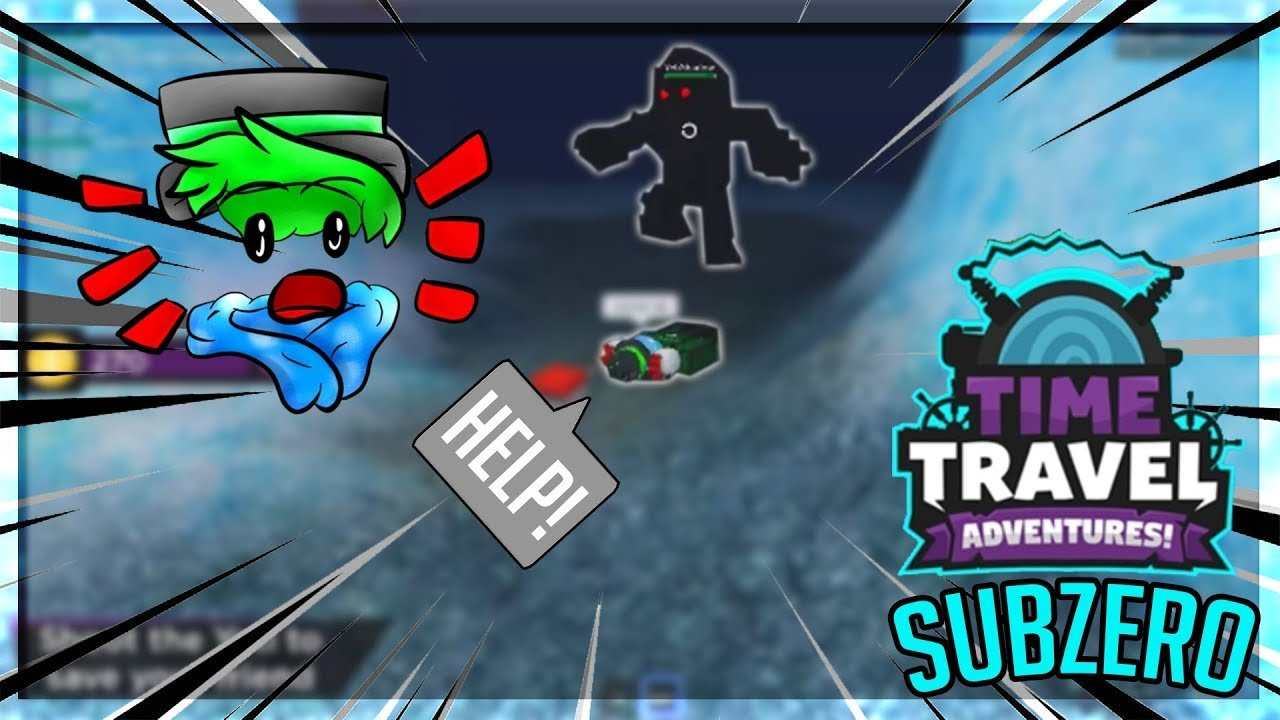 Time Travel Adventures: Subzero | ROBLOX | I got pulled by a yeti!