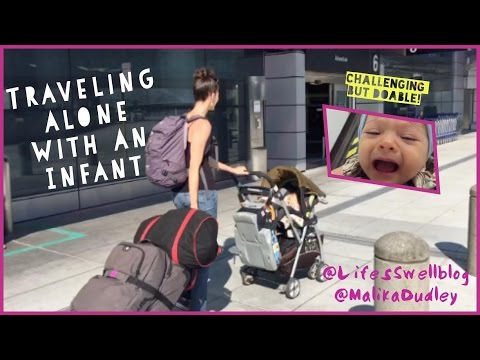 Tips for Traveling Alone with an Infant