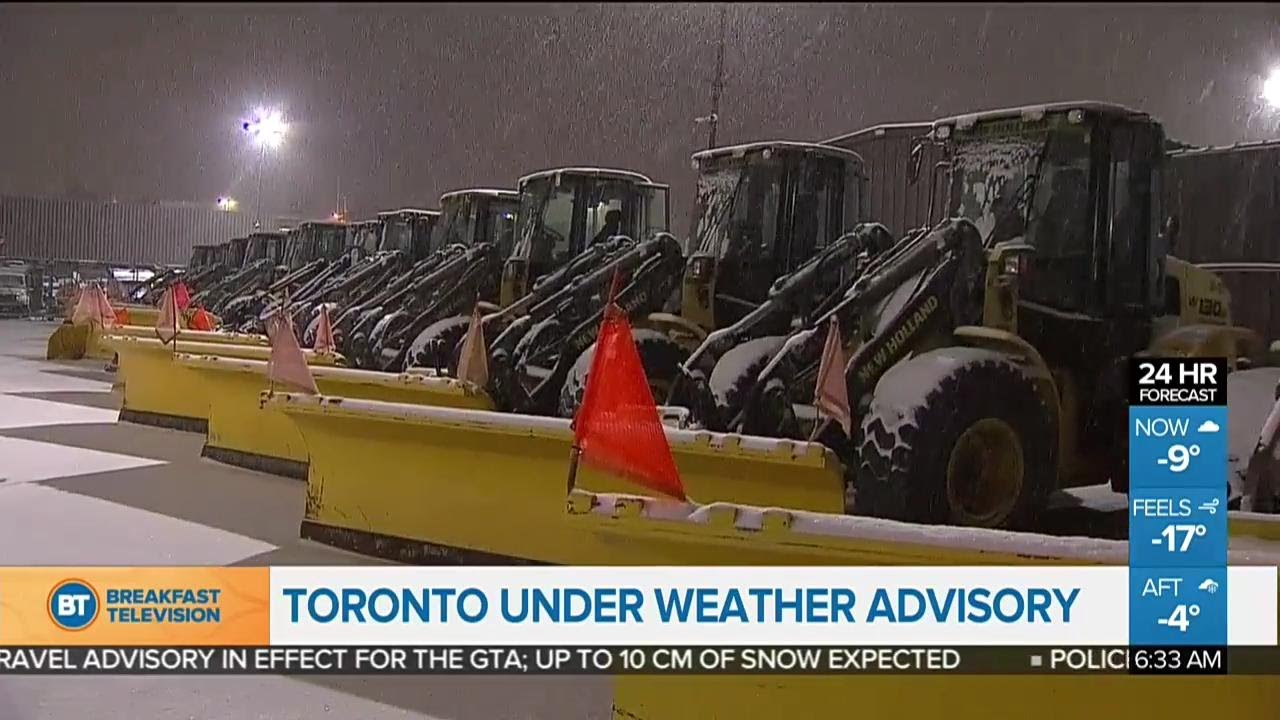 Top stories: GTA under a winter weather travel advisory