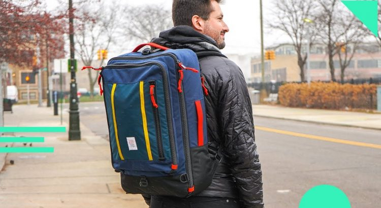 Topo Designs Travel Bag Review   40L Backpack For Carry On Travel