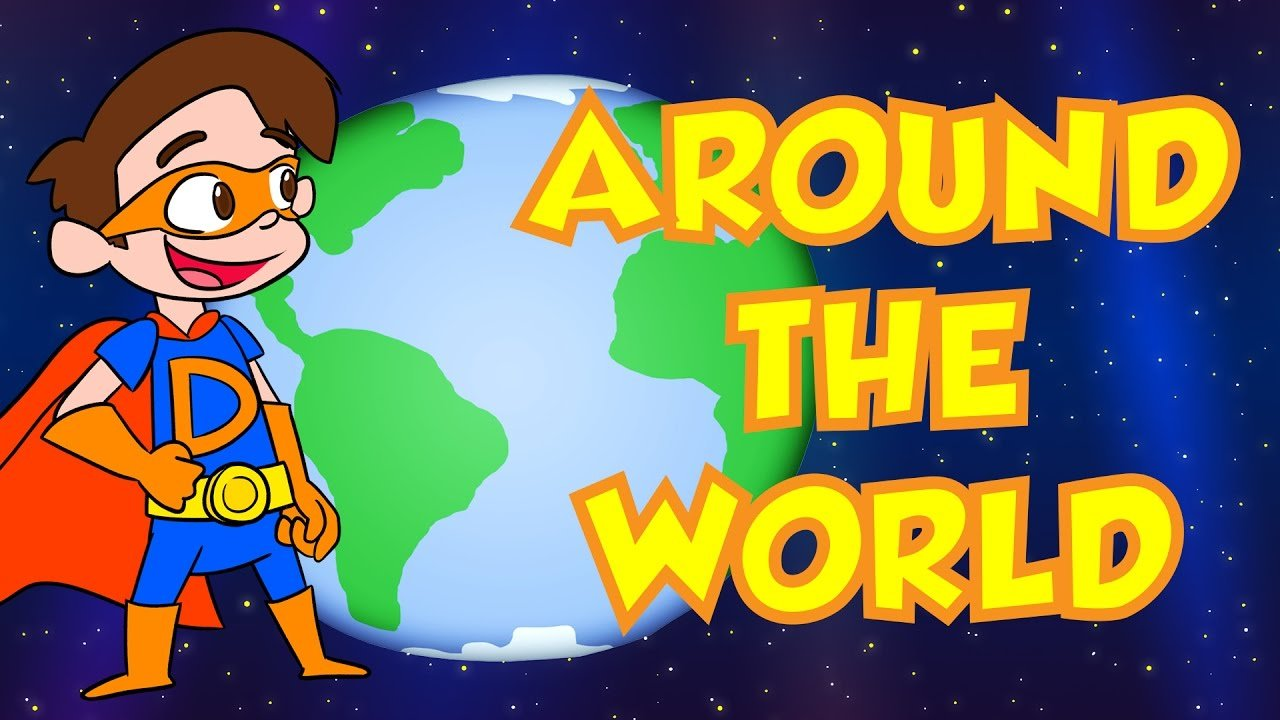 Travel Around the World with Cool School! | Cool School Compilation