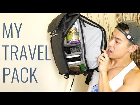 Travel Backpack Must-Haves | JustJoeyT #Travel #Advice
