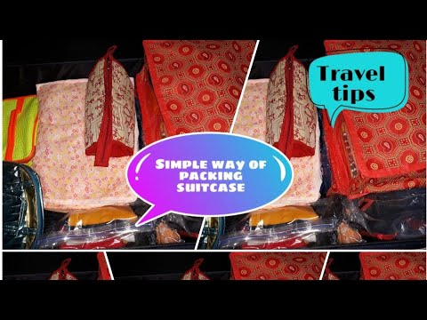 Travel Bag Organization/Travel bag packing tips in tamil/how to pack a...