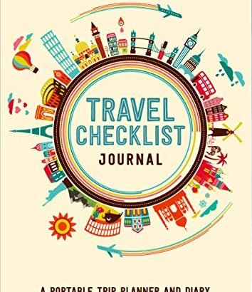 Travel Checklist Journal (Travel Planner Journal) - Travel Checklist Journal Travel Planner Journal 354x410