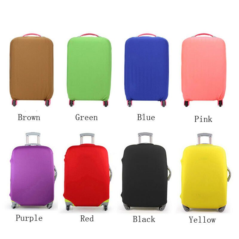 Travel Luggage Protective Cover Dust-proof Pouch Suitcase Protector Ba...