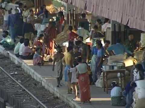 Travel The World By Train - Myanmar, Thailand, Malaysia, Singapour, In...