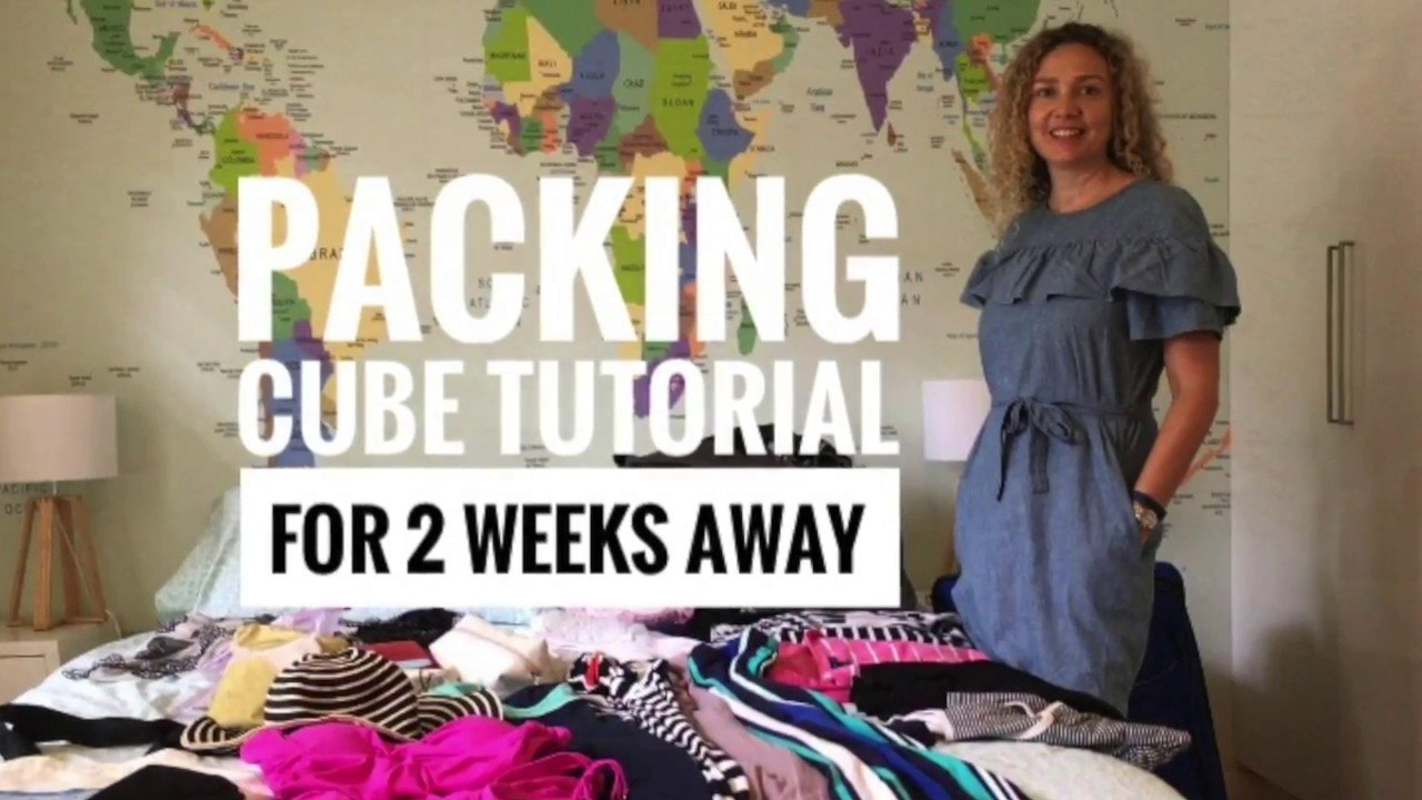 Travel Tips - using packing cubes - packing tutorial tips & tricks