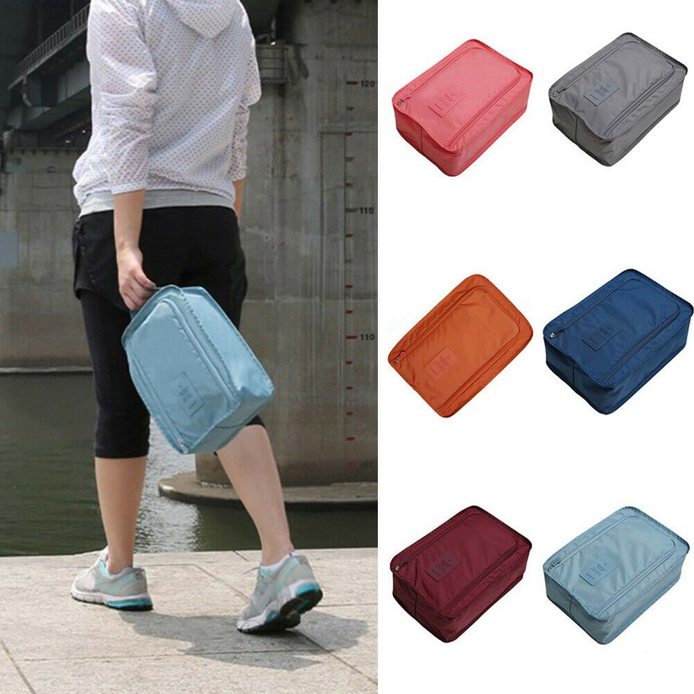 Travel Zipper Portable Pouch Shoe Tote Bag Laundry Storage Waterproof ...