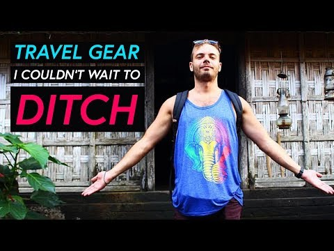 Travel gear I ditched first - Long term travel packing kit list tips a...