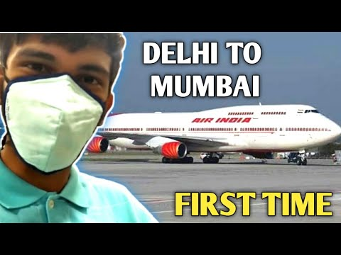 Traveling Alone Age 17 | Delhi To Mumbai | First Time In Aeroplane | D...