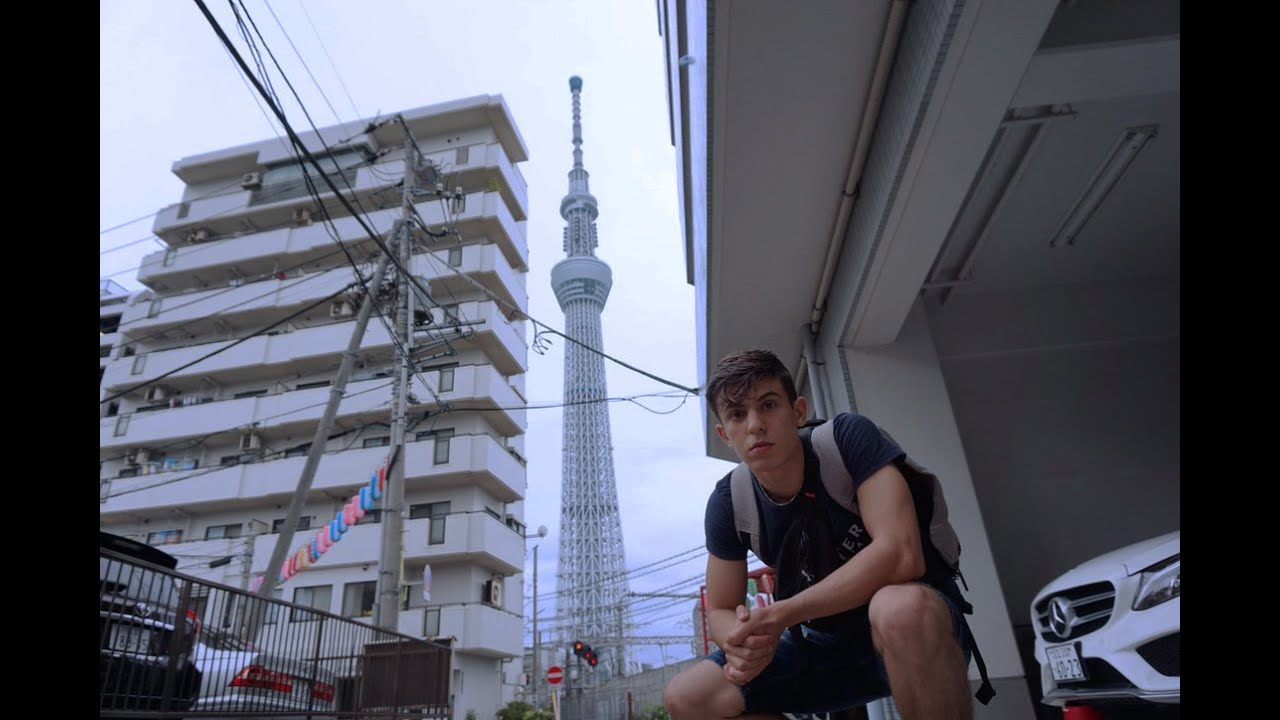 Traveling alone to Japan at 17