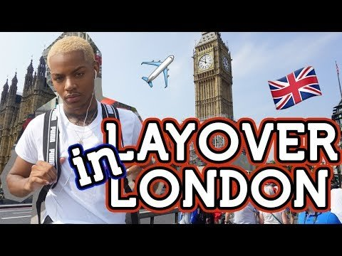 Traveling from USA to London ALONE! My first Solo Vacation  | Tarek Al...