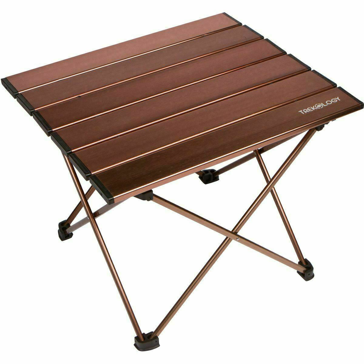 Trekology Portable Camp Backpacking Beach Table in a Bag with Aluminum...