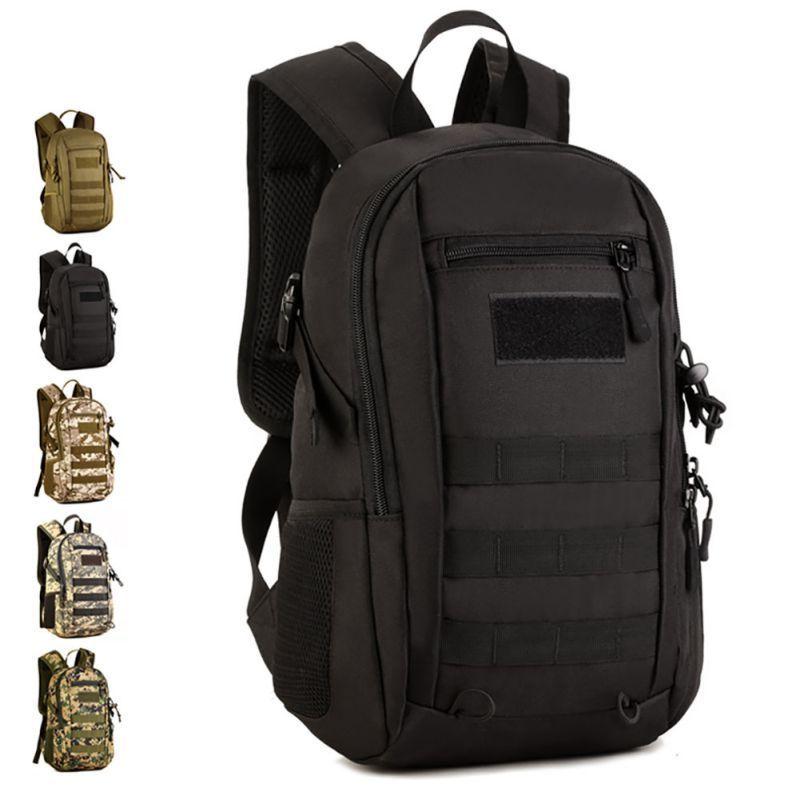 US 12L Outdoor Molle Tactical Military Rucksack Backpack Shoulder Bag ...