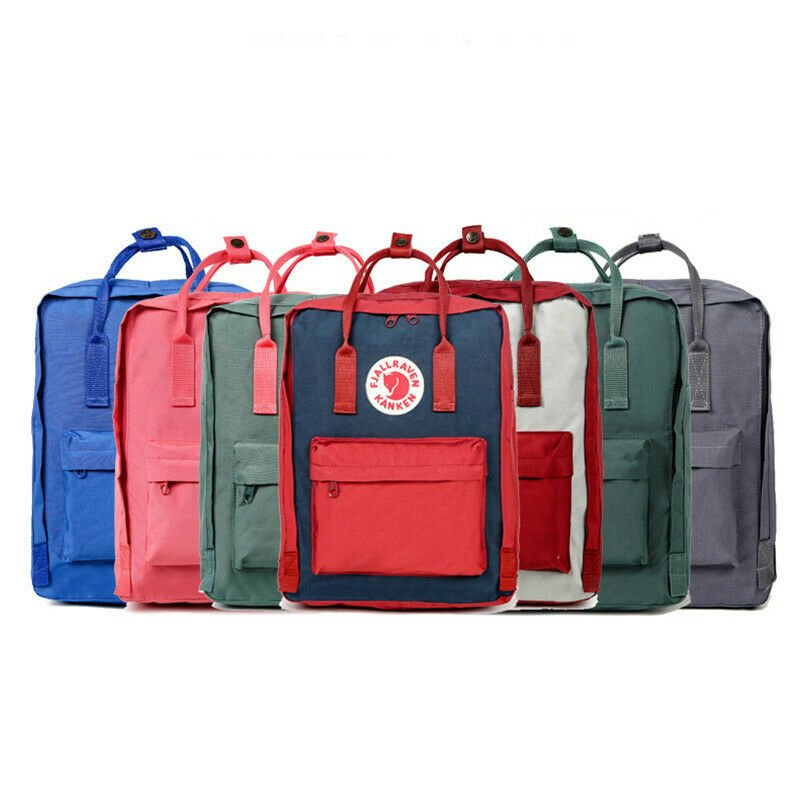 US 7L/16L/20L Fjallraven Kanken Waterproof sport Backpack Schoolbag Tr...