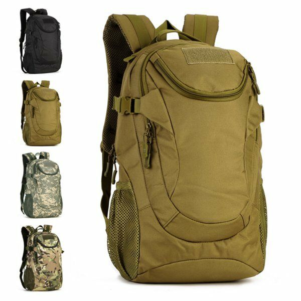 US Men's Outdoor Military Tactical Backpack Rucksack Camping Hiking