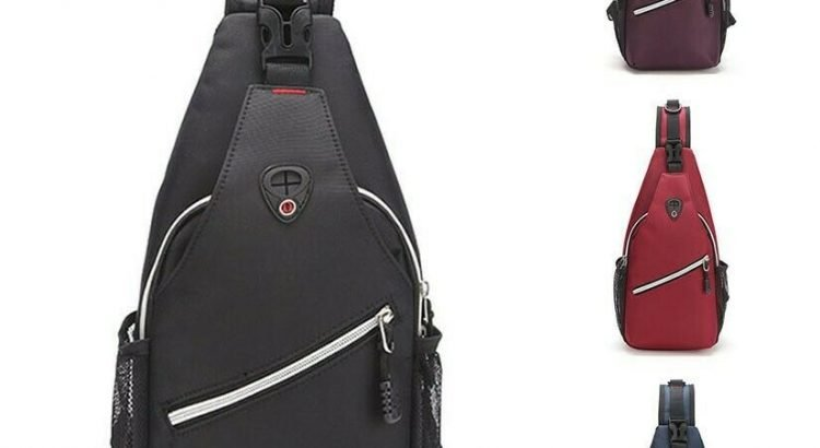 Unisex Chest Shoulder Sling Bag Cross Body Daily Cycle Travel Backpack...