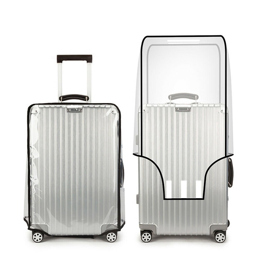 Universal Waterproof Protective Transparent Luggage Suitcase Cover Cas...