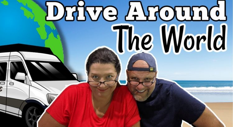 VAN LIFE Travel Couple - Driving Our TINY HOUSE Around The World
