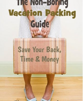 Vacation Packing Guide For Internationally Travel (Non-Boring Travel Guides) - Vacation Packing Guide For Worldwide Travel Non Boring Travel Guides 339x410