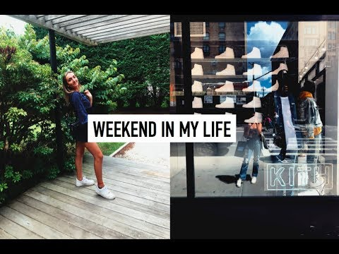 WEEK IN MY LIFE- traveling alone to nyc & the hamptons with my bes...