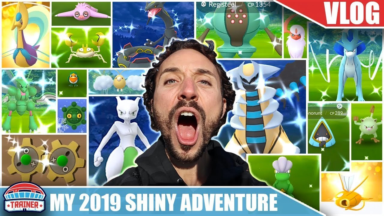 WHEN YOU TRAVEL THE WORLD FOR SHINY POKÉMON... THIS IS WHAT YOU GET! P...